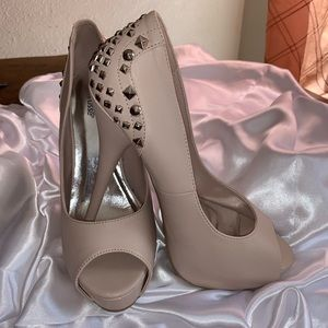 Cream Charlotte Russe Heels